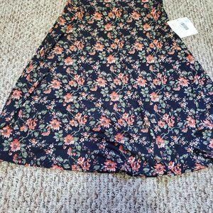 Lularoe floral azure skirt